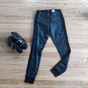 J Crew 0 Faux Leather Gigi Pant Leggings